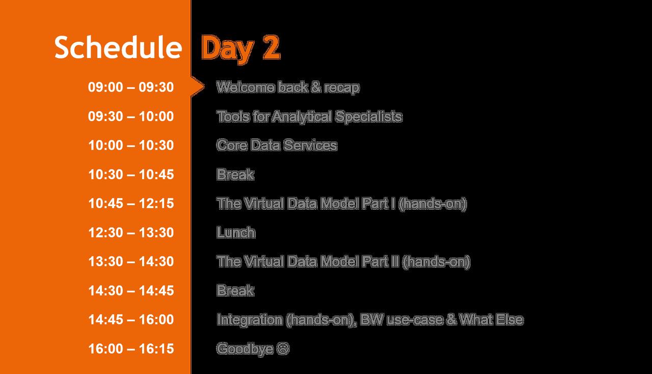 Embedded Analytics - Day II