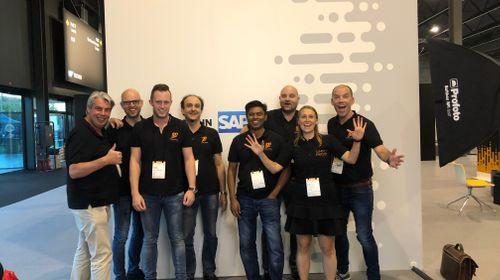 Erik en Friends op de SAP TechEd 2019 in Barcelona