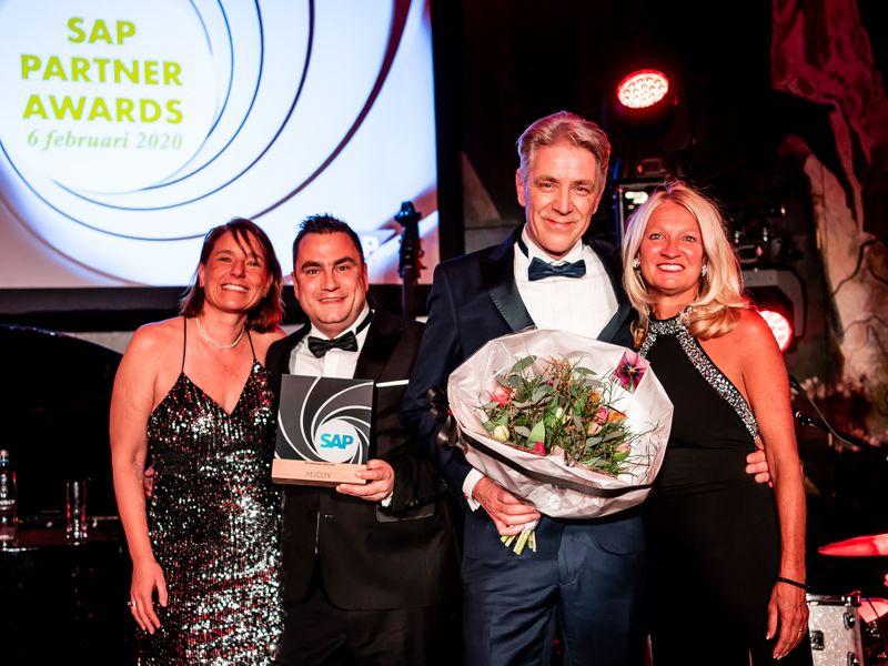 SAP Partner Awards 2020: McCoy wint Ambassador Award!